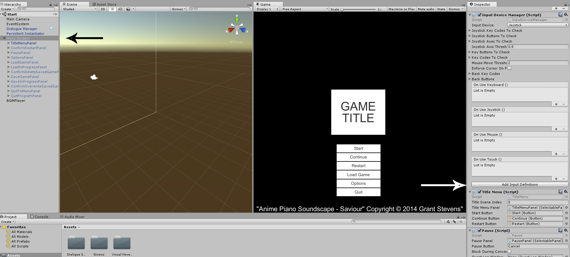 Live2D Supported Visual Novel for Dialogue System for Unity